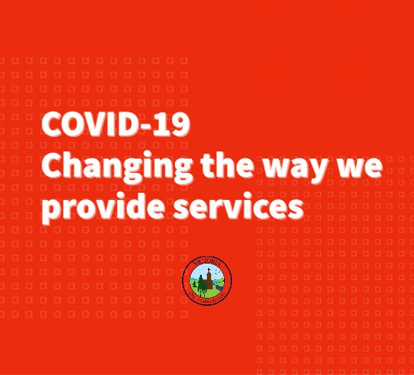 COVID-19: Changing the way we provide services
