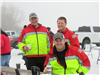 victoria firefighters at ice fishing contest