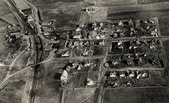 Aerial photo of Victoria from 1932