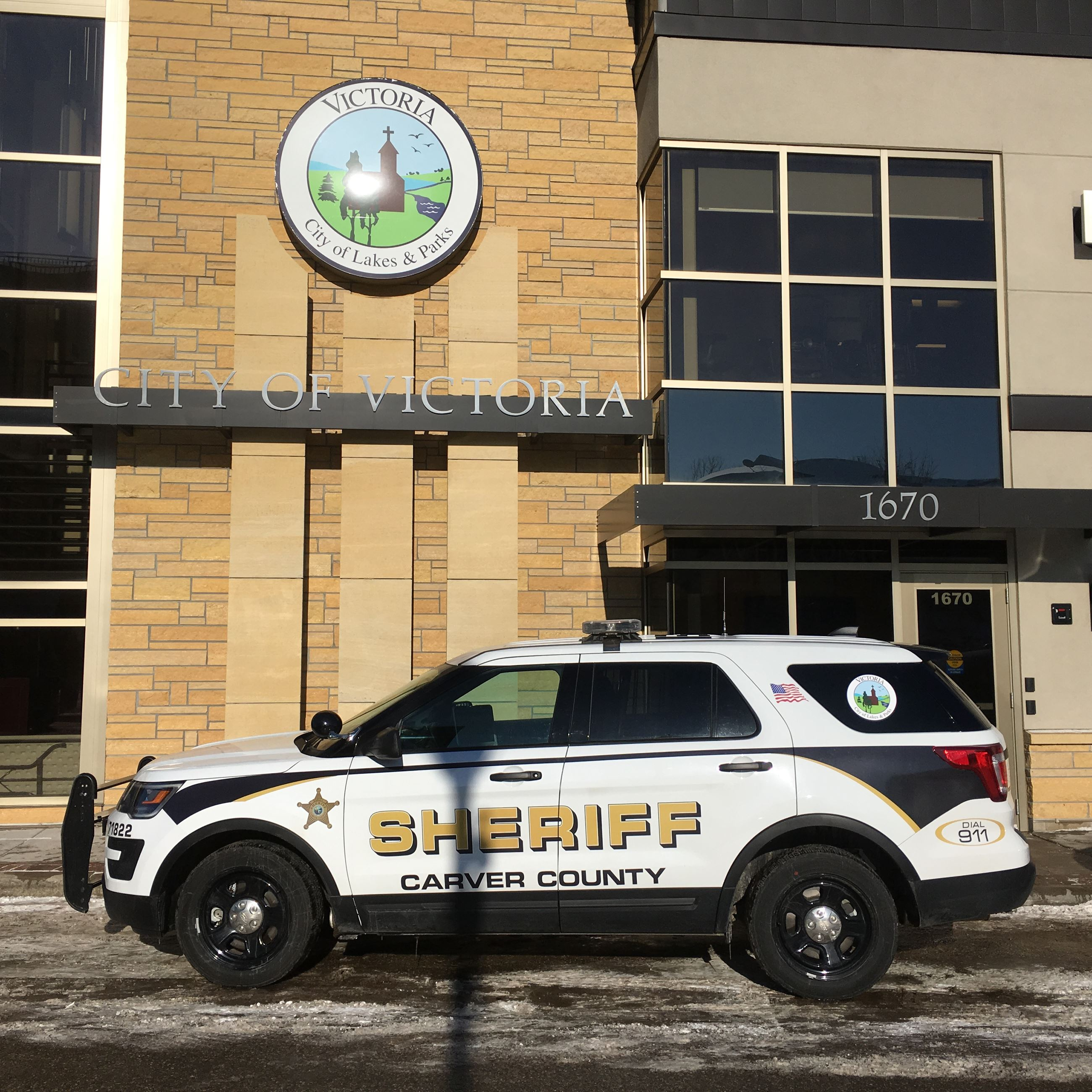 Carver County Sheriff car