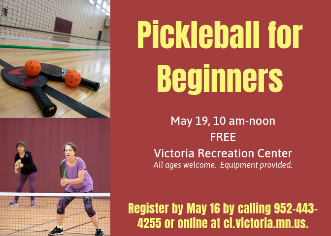Pickleball for Beginners May 19