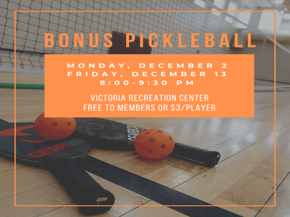 Bonus Pickleball