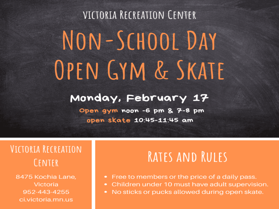 February 17 - non-school day